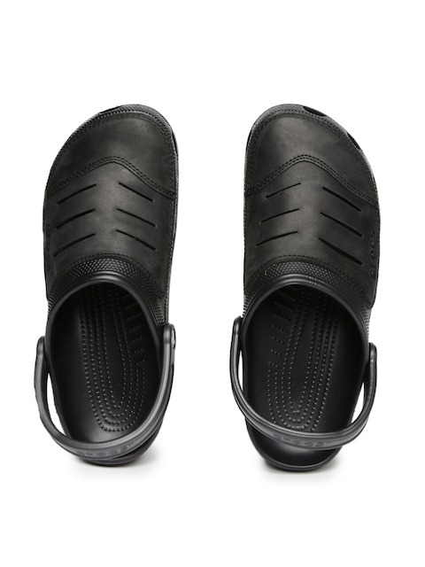 Crocs Men Black Bogota Clogs