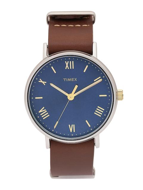 Timex Men Blue Analogue Watch TW2R28700