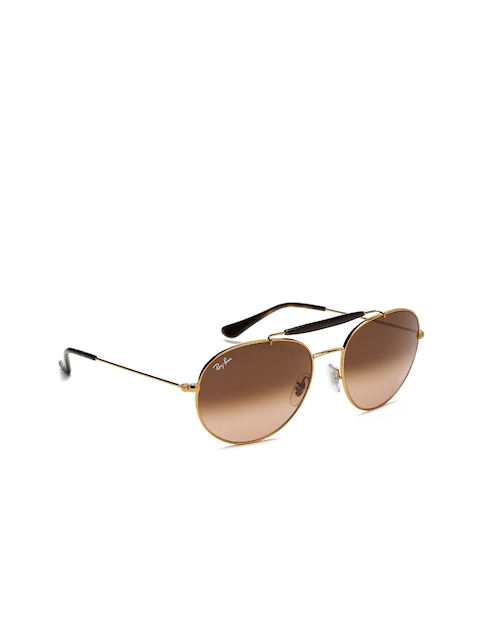 Ray-Ban Unisex Aviator Sunglasses 0RB35409001A556
