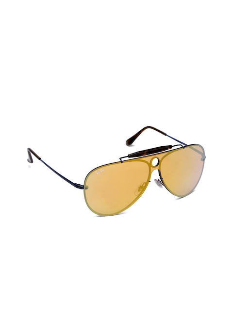 Ray-Ban Unisex Aviator Mirrored Sunglasses 0RB3581N90387J32