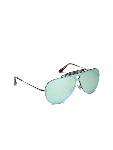 Ray-Ban Unisex Aviator Mirrored Sunglasses 0RB3581N003/3032