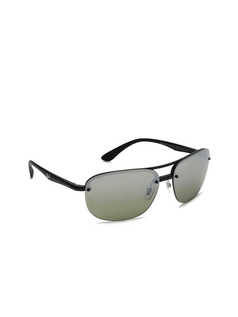 Ray-Ban Men Rectangle Sunglasses 0RB4275CH601S5J63