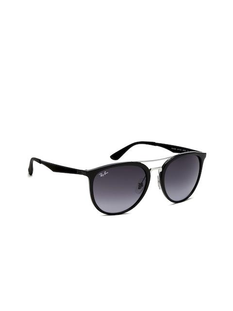 Ray-Ban Men Oval Sunglasses 0RB4285601/8G55-601/8G