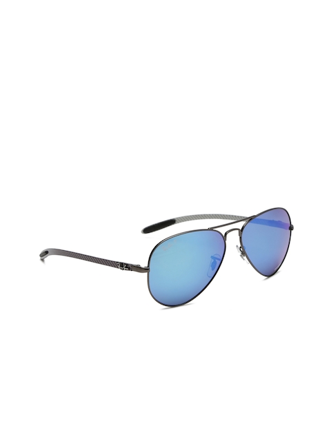 Ray-Ban Men Aviator Mirrored Sunglasses 0RB8317CH029