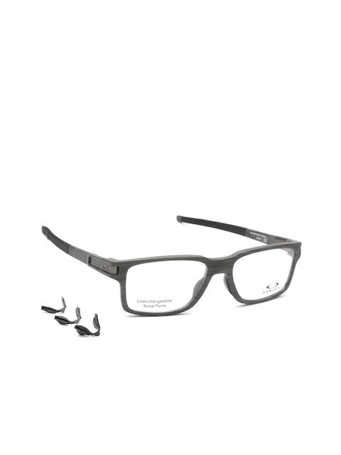 OAKLEY Men Grey Rectangular Frames 0OX811581150354