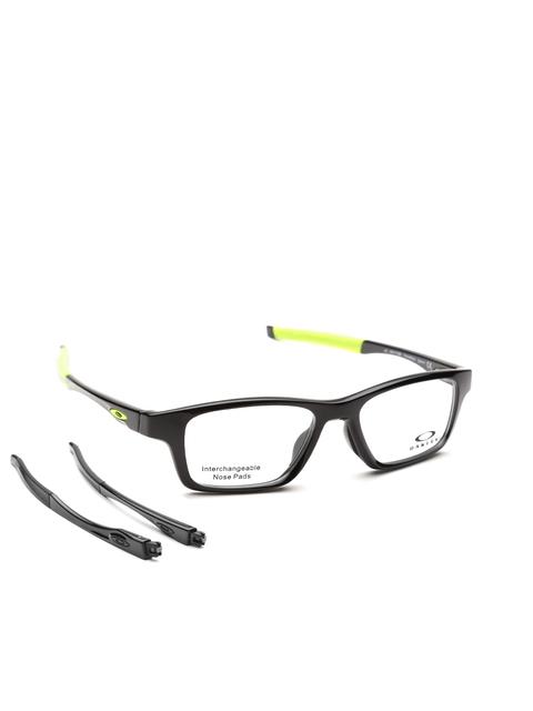 OAKLEY Men Black Full-Rim Rectangular Frames 0OX811781170252