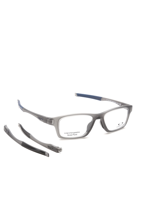 OAKLEY Men Grey Full-Rim Rectangular Frames 0OX811781170352