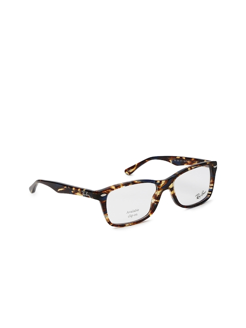 Ray-Ban Women Brown Rectangular Frames 0RX5228571153