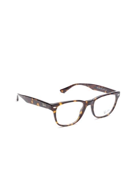 Ray-Ban Men Brown Solid Full Rim Square Frames 0RX5359201251