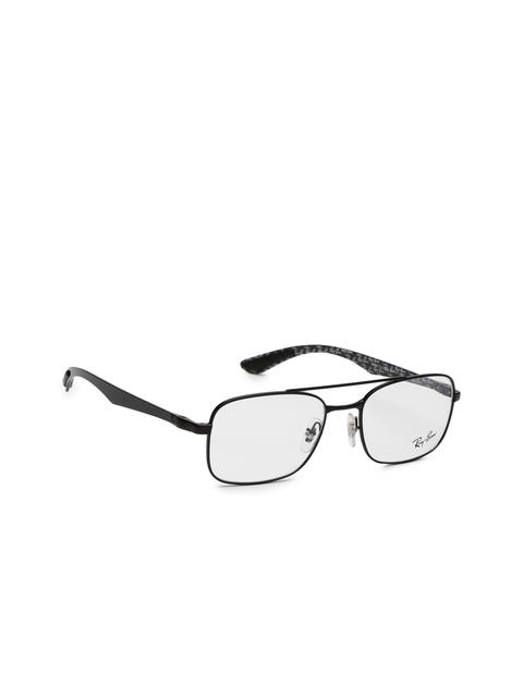 Ray-Ban Men Black Rectangular Frames 0RX8417276053