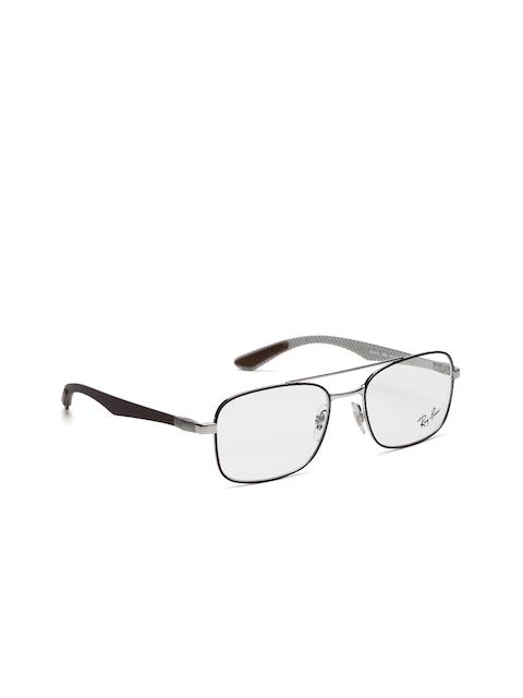 Ray-Ban Men Brown Rectangular Frames 0RX8417295253