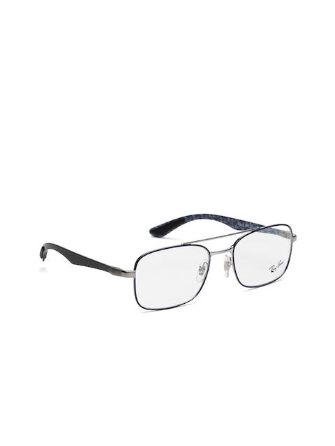 Ray-Ban Men Blue Rectangular Frames 0RX8417295353