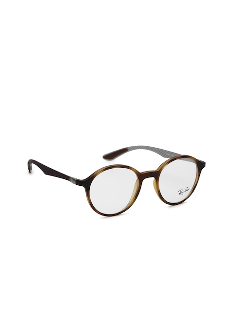 Ray-Ban Men Brown Round Frames 0RX8904520048