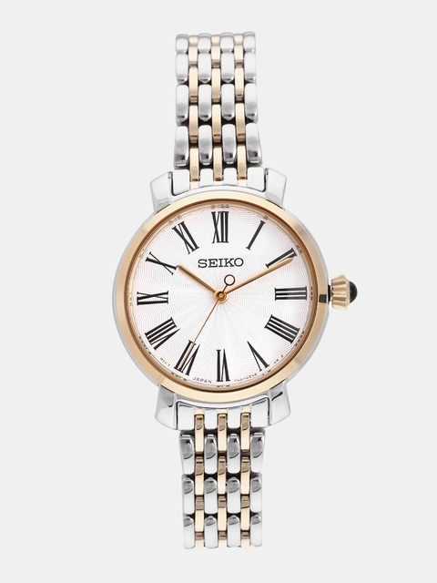 SEIKO Women Off-White Analogue Watch SRZ496P1