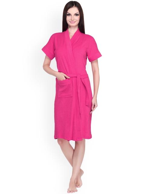 Sand Dune Women Pink Bathrobe