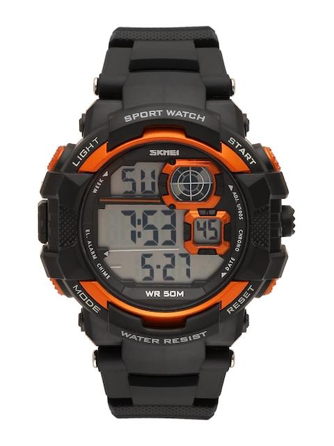 Skmei Men Black Digital Watch 1118OR