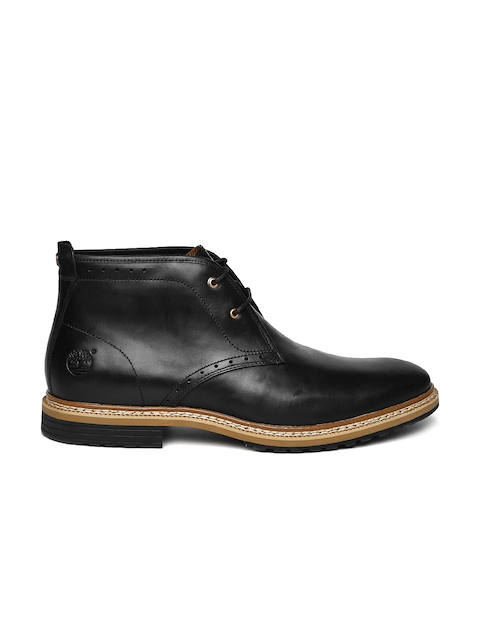 Timberland Men Black City 2.0 Chka Leather Boots