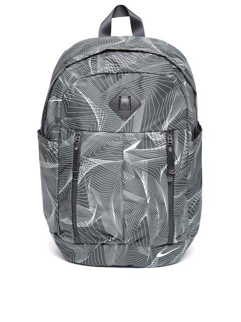 Nike Women Black Auralux Printed Backpack