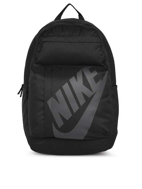 Nike Unisex Black Brand Logo ELMNTL  Backpack