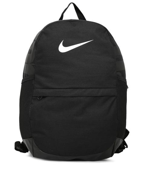 Nike Unisex Black Brand Logo Backpack