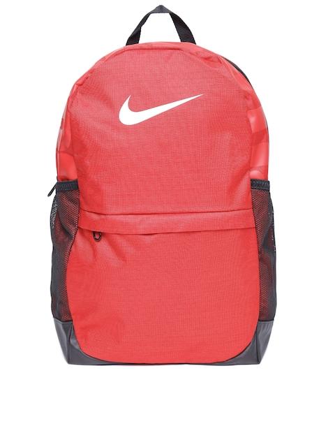 Nike Unisex Red Brasilia Backpack