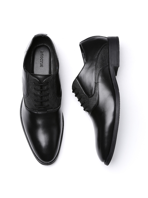 INVICTUS Men Black Formal Shoes