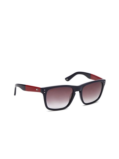 Tommy Hilfiger Men Rectangle Sunglasses TH 7873 Navgr-35 C1 56 S