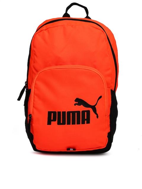 Puma Unisex Orange Phase Backpack