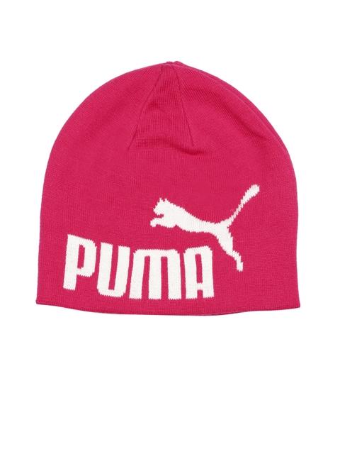 Puma Unisex Pink ESS Big Cat Beanie