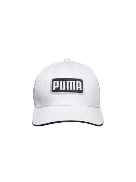 Puma Men White Greenskeeper II Cap