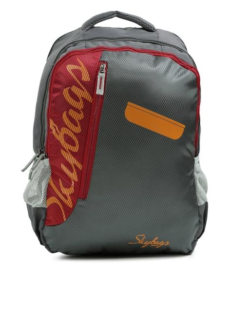 Skybags Unisex Grey Footloose Colt 01 Backpack