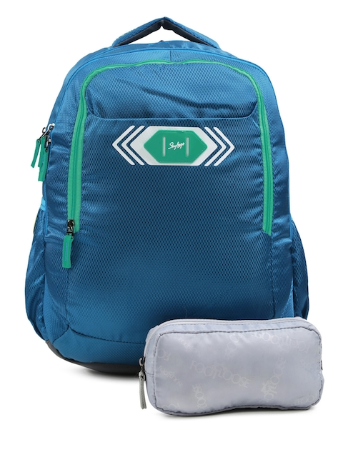 Skybags Unisex Blue Footloose Viber 02 Textured Backpack