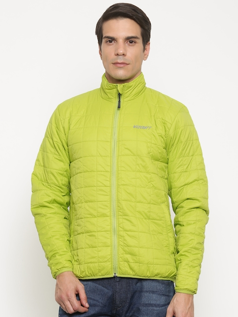 Wildcraft Men Lime Green Solid Puffer Adri Husky Packable Jacket