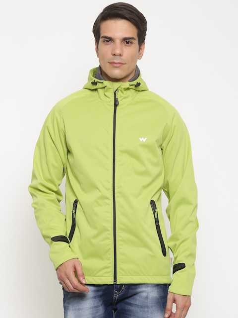Wildcraft Men Green Solid SoftPro Jacket