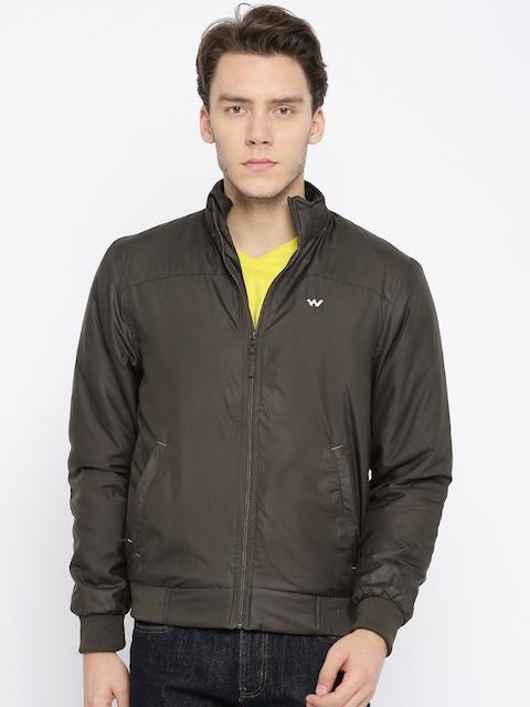 Wildcraft Men Brown Solid Padded Jacket