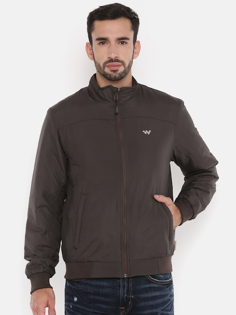 Wildcraft Men Brown Solid Padded LQJ Jacket