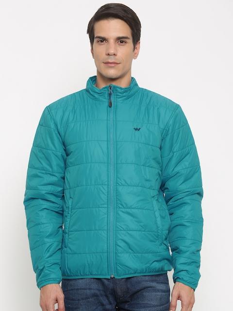 Wildcraft Men Blue Solid Lightweight Puffer Jacket