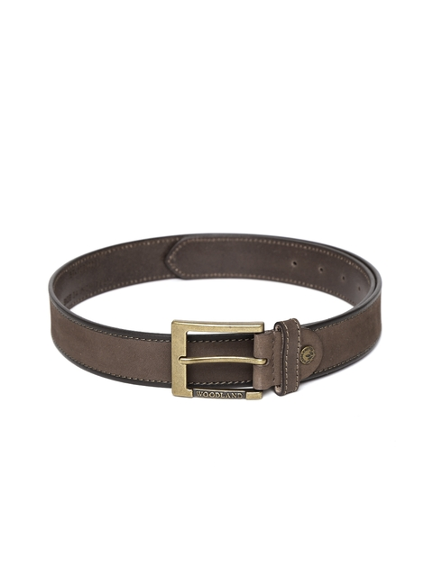 Woodland ProPlanet Men Brown Solid Leather Belt