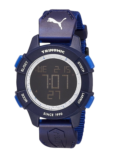 Puma Men Navy Blue Digital Watch PU911271001