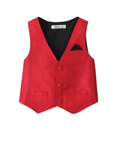 Beebay Boys Red Waistcoat