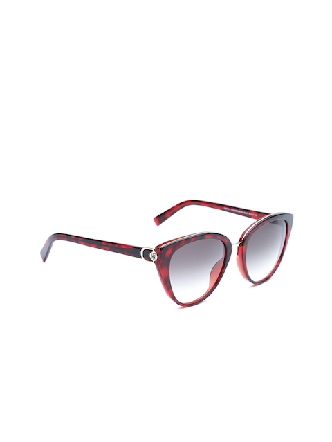 Tommy Hilfiger Women Printed Cateye Sunglasses 9712