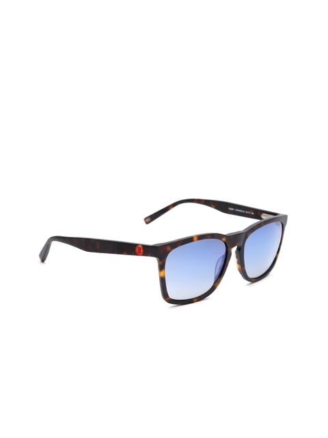 Tommy Hilfiger Men Printed Mirrored Wayfarer Sunglasses 2526