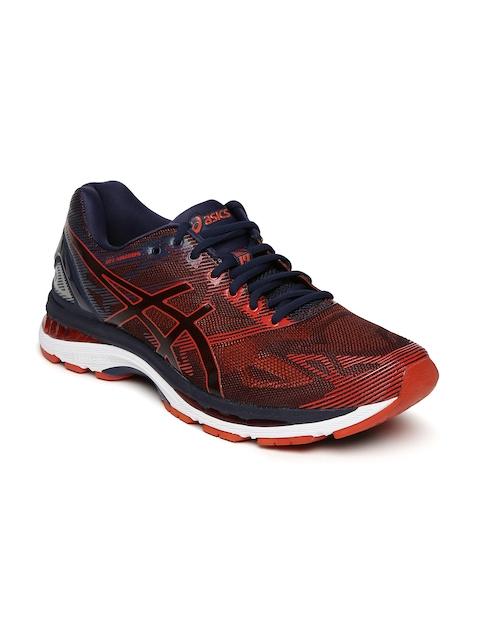 ASICS Men Red GEL-NIMBUS 19 Running Shoes