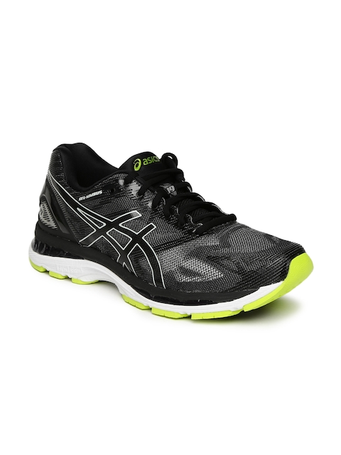 ASICS Men Black GEL-NIMBUS 19 Running Shoes