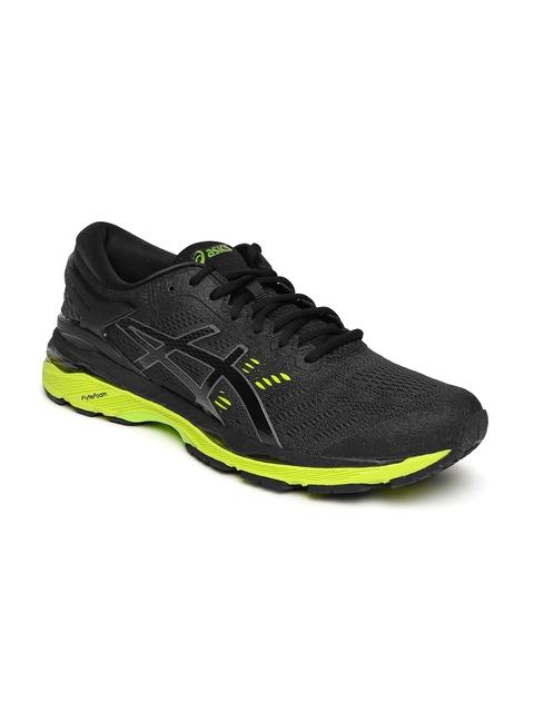 ASICS Men Black Gel-Kayano 24 Running Shoes
