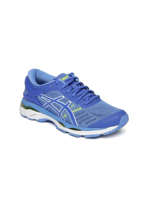 ASICS Women Blue GEL-KAYANO 24 Running Shoes