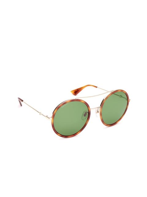 Gucci Women Round Sunglasses GG 0061/S 002