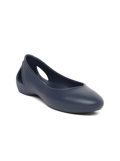 Crocs Women Navy Blue Laura Ballerinas