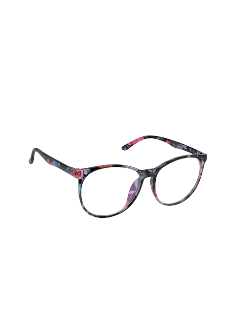 Cardon Unisex Multicoloured Oval Frames LCEWCD1386THY2374xC7