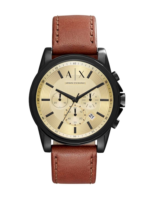 Armani Exchange Men Gold-Toned Chronograph Watch AX2511  available at myntra for Rs.12145